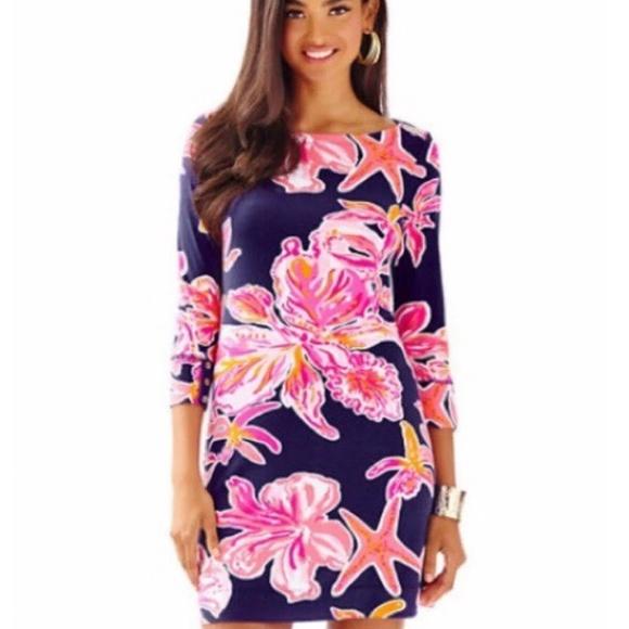 ff0c023470a79f Lilly Pulitzer Dresses | Sophie Dress Bright Navy Sunny L | Poshmark